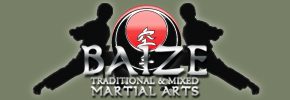 Baize Traditional and Mixed Martial Arts Logo