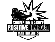 Champion Karate Positive Impact Martial Arts Logo