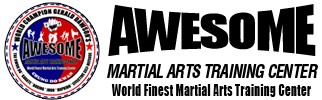 Awesome Martial Arts Training Center Logo