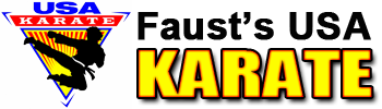 Faust&#39;s USA Karate Logo