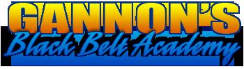 Gannon's Black Belt Academy Logo