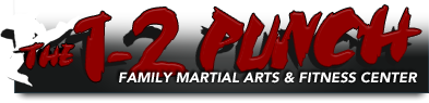 The 1-2 Punch Martial Arts Logo