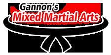 Gannon's Mixed Martial Arts Logo