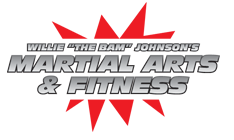 "Willie ""THE BAM"" Johnson's Martial Arts and Fitness Logo"