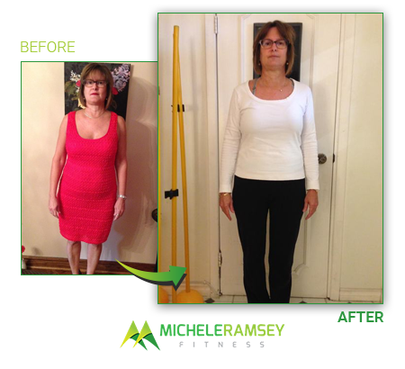 Mary - Lost 20lbs and 8.1% bodyfat