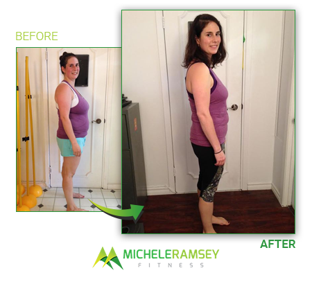 Shoshana - Lost 34lbs and 13.7% bodyfat in 5 months
