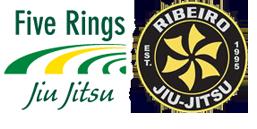 Five Rings Jiu Jitsu - Bethany Logo