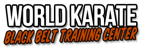 World Karate Black Belt Training Center Logo