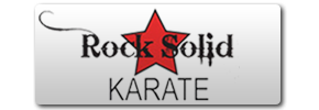 Rock Solid Karate Logo