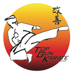 Top Gun Karate And Fitness Logo