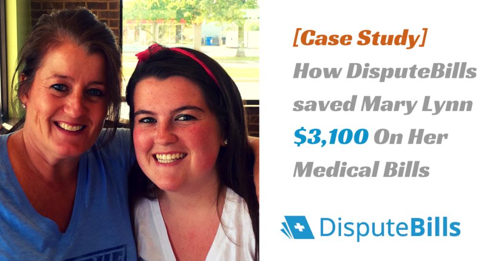 how disputebills saved mary lynn thousands on her medical bills