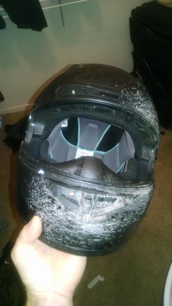 should people wear helmets Most people learn, usually through physical pain, to deal with their bad decisions  if you identify with that then you should be wearing a helmet to protect yourself.