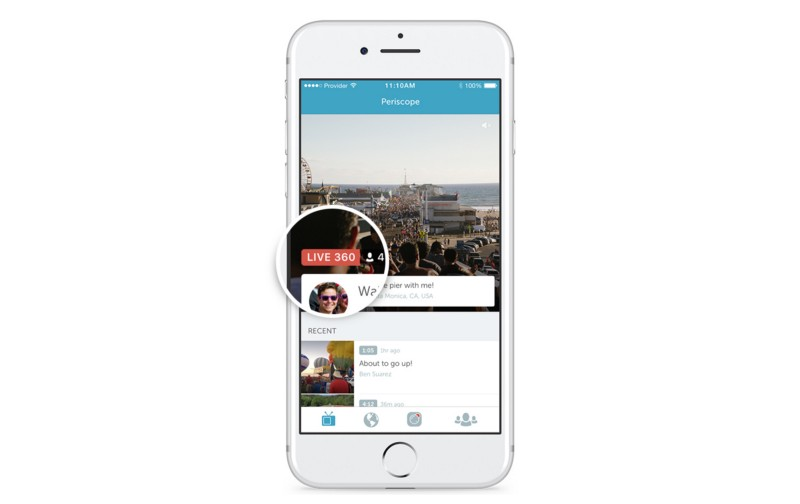 Twitter Adds Live 360 Videos
