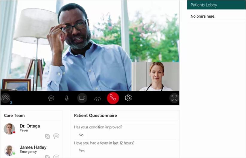 Office 365 Virtual Health Templates