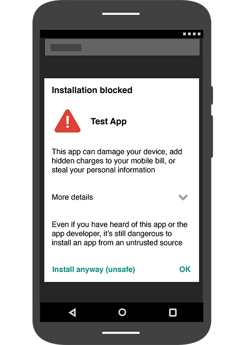 verify apps shield you from potentially harmful applications
