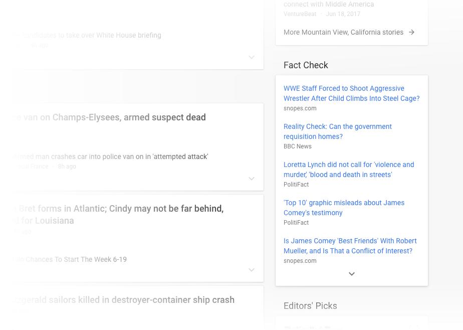 New Google News dedicated Fact Check block