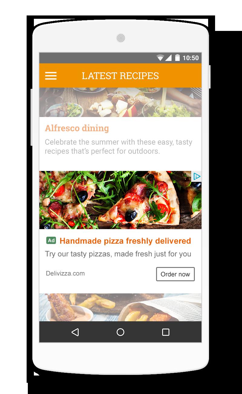 AdSense Native In-feed ads