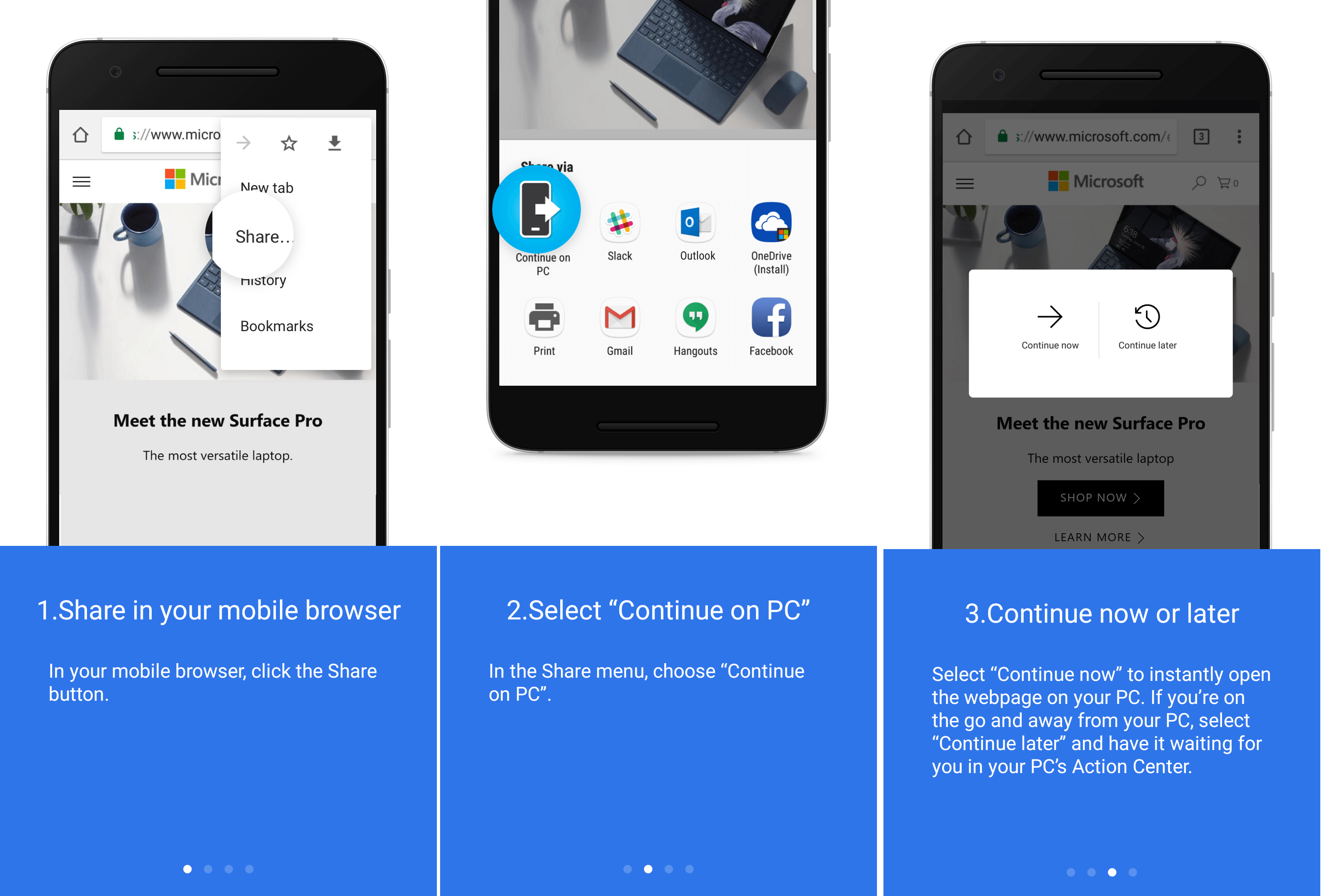 Get web search results in Cortana