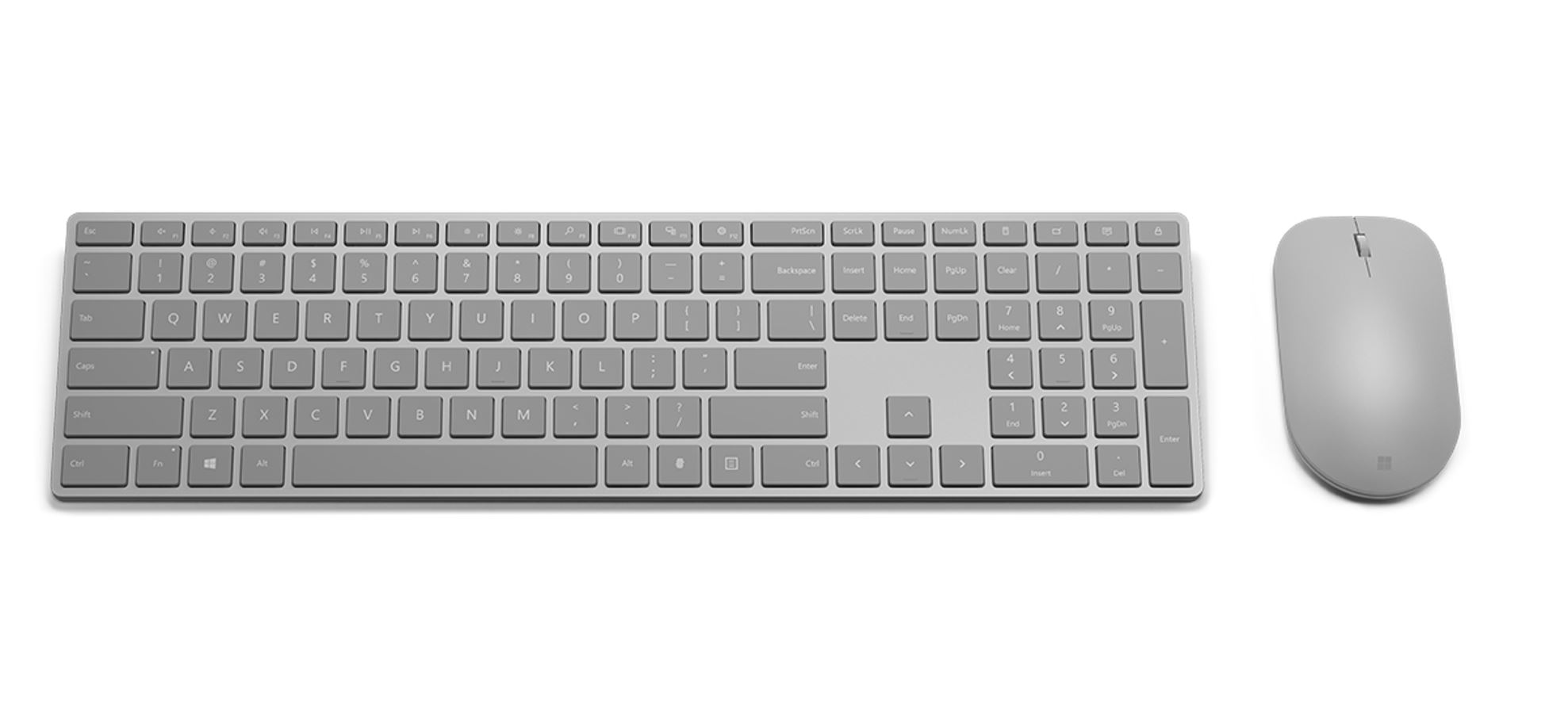 microsoft modern keyboard with fingerprint id and microsoft modern mouse