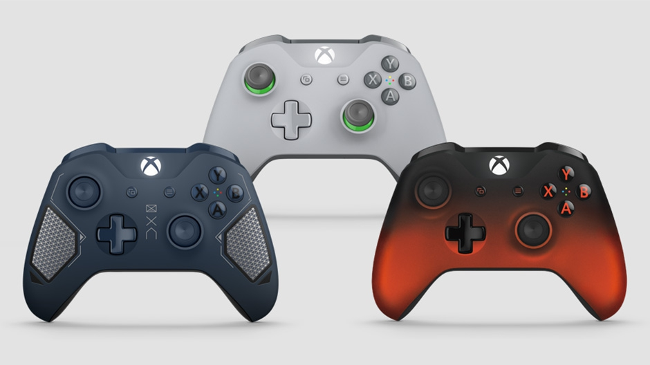 new Xbox Wireless Controllers