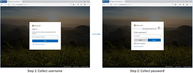 Azure AD paginated sign-in flow in desktop
