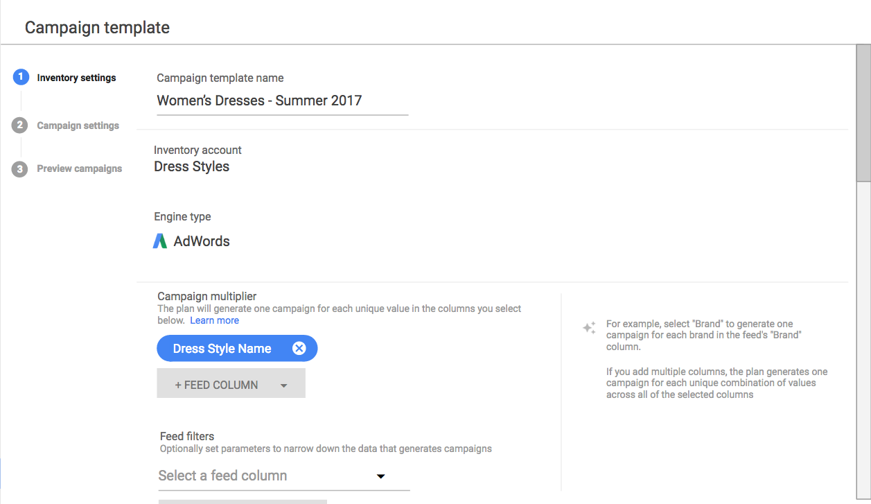 DoubleClick Search upgraded inventory management