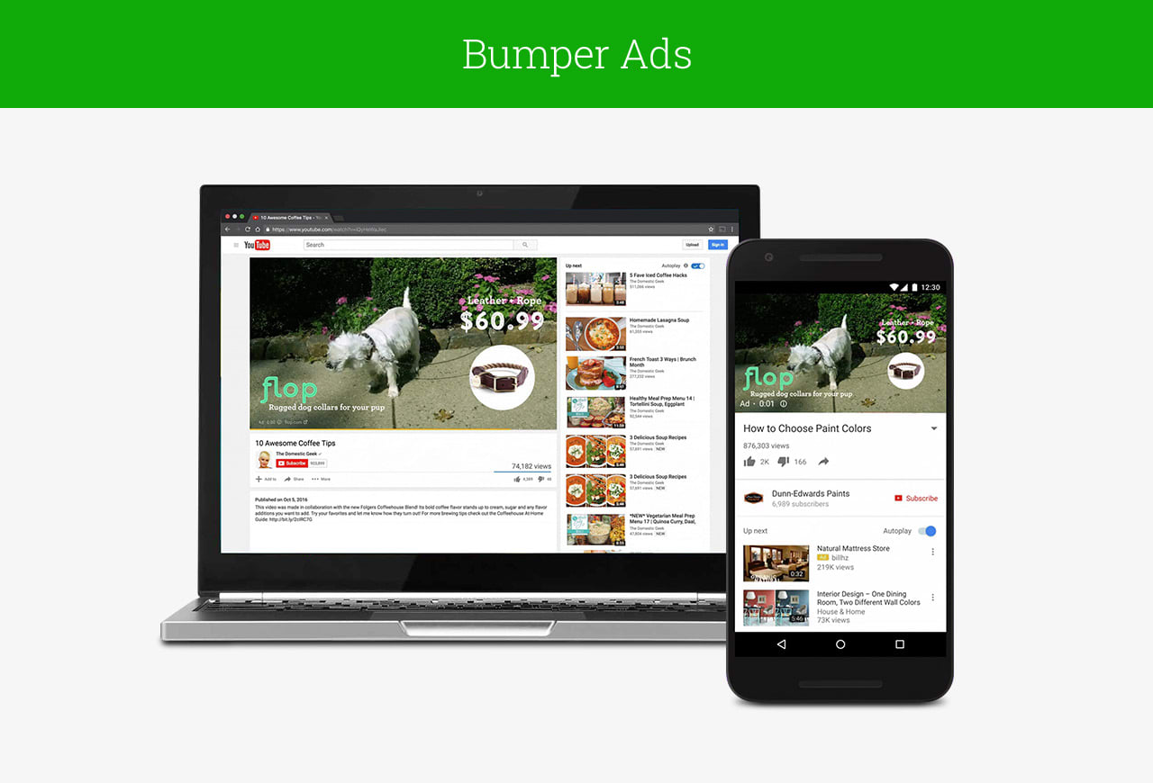 Bumper Ads in DoubleClick Bid Manager