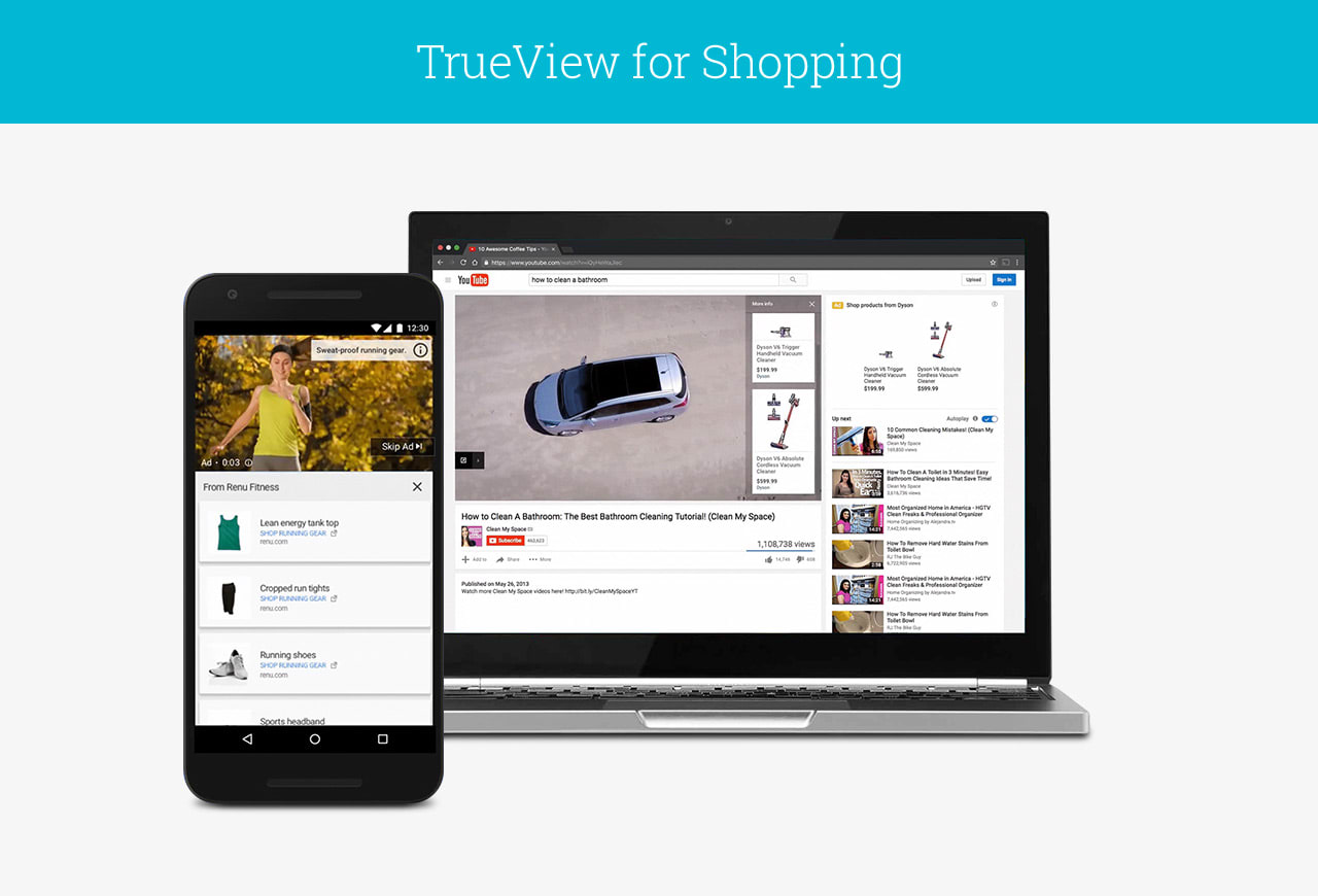 TrueView Shpping Ads in DoubleClick Bid Manager
