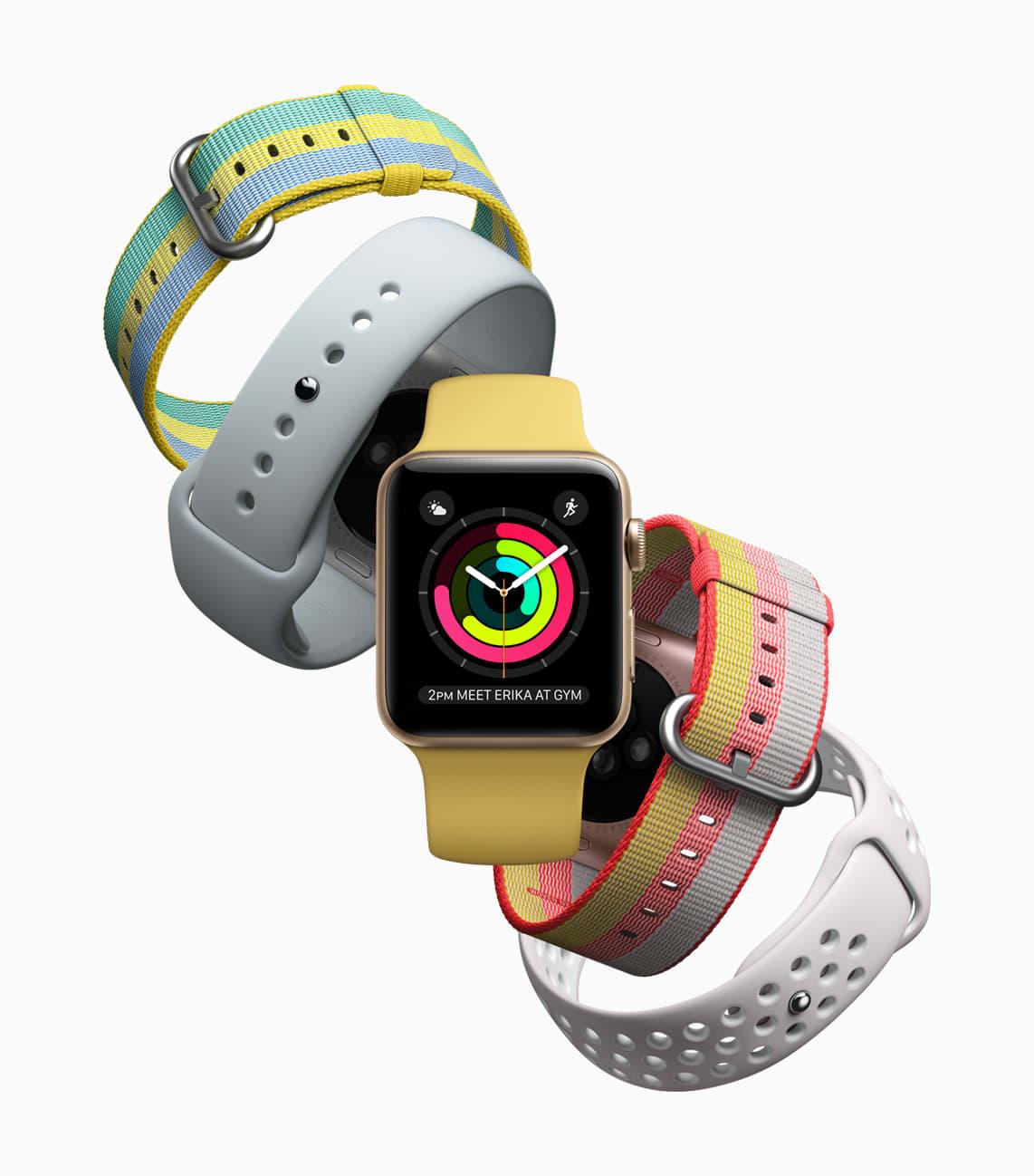 New Apple Watch summer bands
