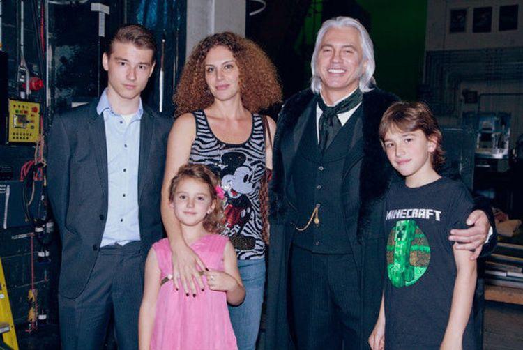 Семья и дети Дмитрия Хворостовского фото
