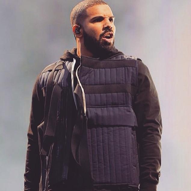 Drake green vest