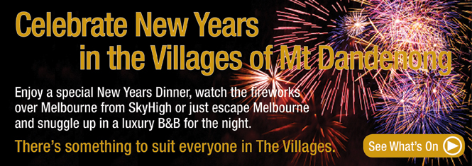 New Years Eve in the Dandenong Ranges