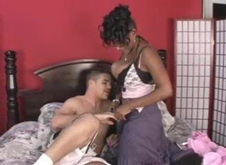 Black girl white guys porno