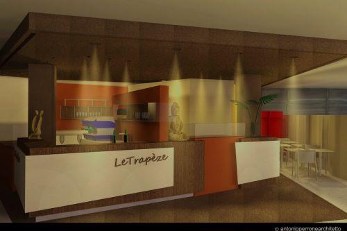 Bar le trapèze · antonio perrone architetto