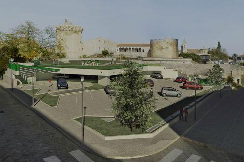 Riqualificazione degli spazi circostanti il castello - Parcheggio interrato ...