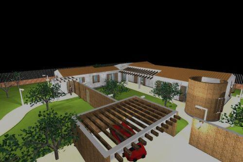 Progetto di casa unifamiliare a patio emanuele gentile - Progetto completo casa unifamiliare ...