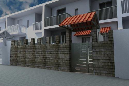 Casa m t e i f piccolo spazio esterno per una casa al for 2 500 m di progetti di case aperte
