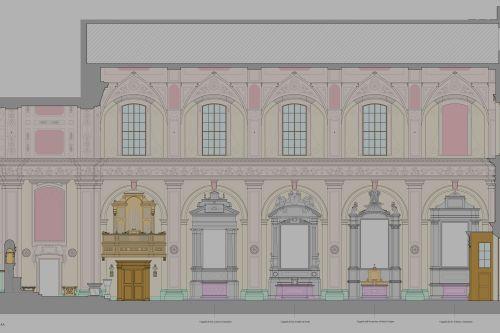 Chiesa dei ss gregorio e sirio bologna restauro degli interni e adeguamento illuminotecnico - Architetti d interni milano ...
