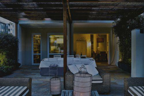 casa con terrazzo · Francesco Peveri