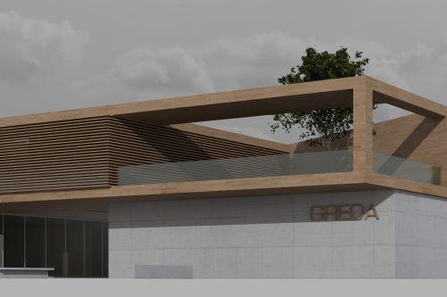 Concorso di idee per la progettazione di un capannone for Piani di capannone per uffici esterni