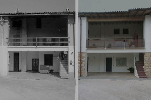 Ristrutturazione porzione di cascina · Architetto Cristiano Inverardi