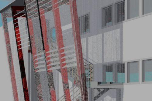 Progetto di copertura di una scala esterna valentina vettori architetto - Copertura scala esterna ...