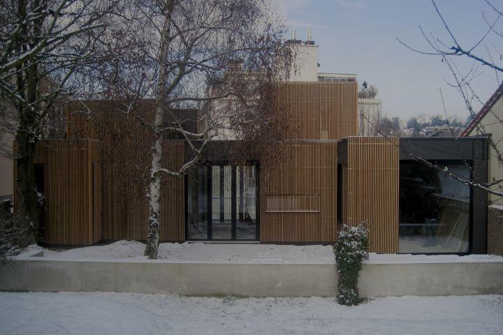 A samuel delmas wooden frame house - Villa seignosse debarre duplantiers associes ...