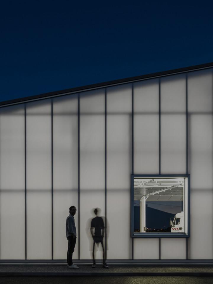 MFA Architects, NMA - NICOLA MARTINOLI ARCHITETTO, Fernando Guerra / FG+SG · Technical Centre of Rixheim Council