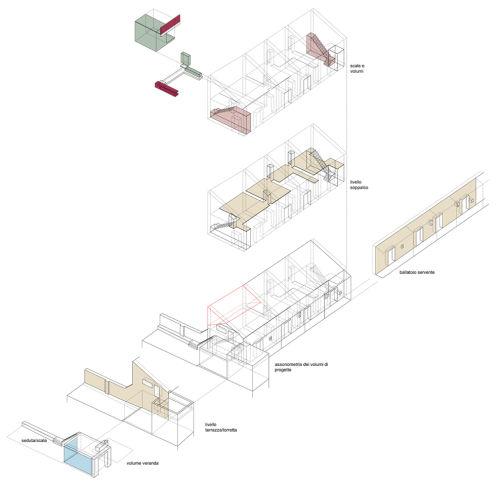 Casa con soppalchi sdgr studio - Progetto casa fossato di vico ...