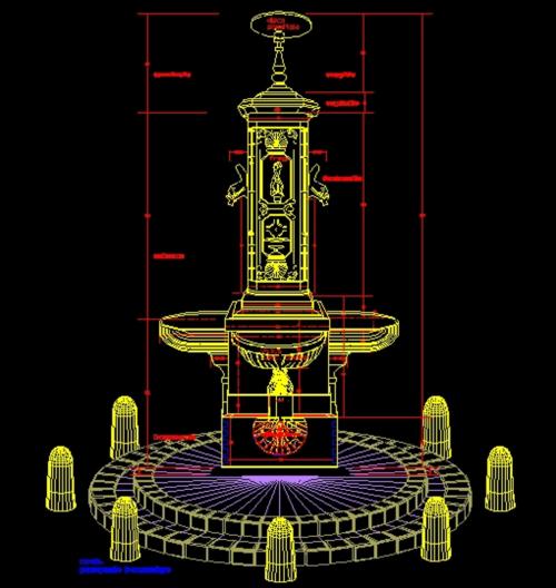 Fontana  circolare