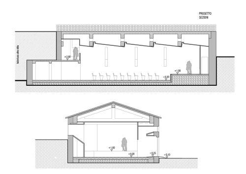 Riqualificazione architettonico funzionale teatro comunale for Mobilia spazio