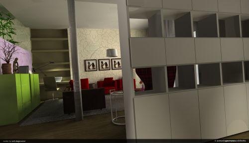 New interiors in a single dwelling · antonio perrone architetto