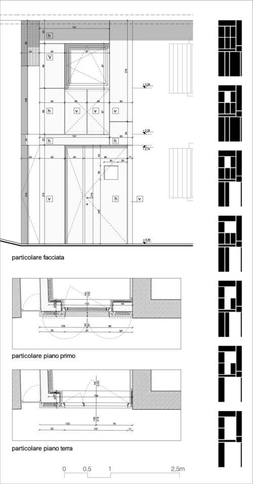 Microrifugio particolare facciata
