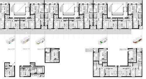 Housing contest edificio residenziale ad alte for Costo ascensore esterno 4 piani